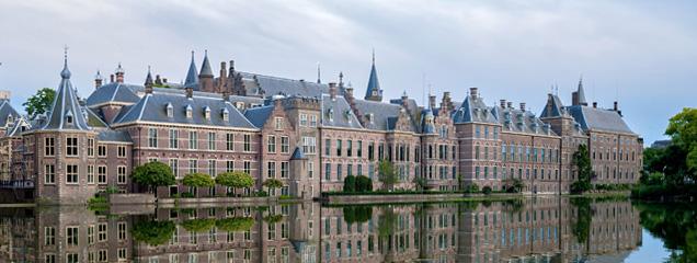 Den Haag Hofvijver Binnehof